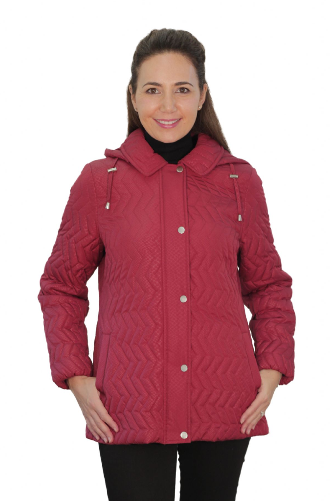 Womens Chevron Pattern Quilted Jacket db1414