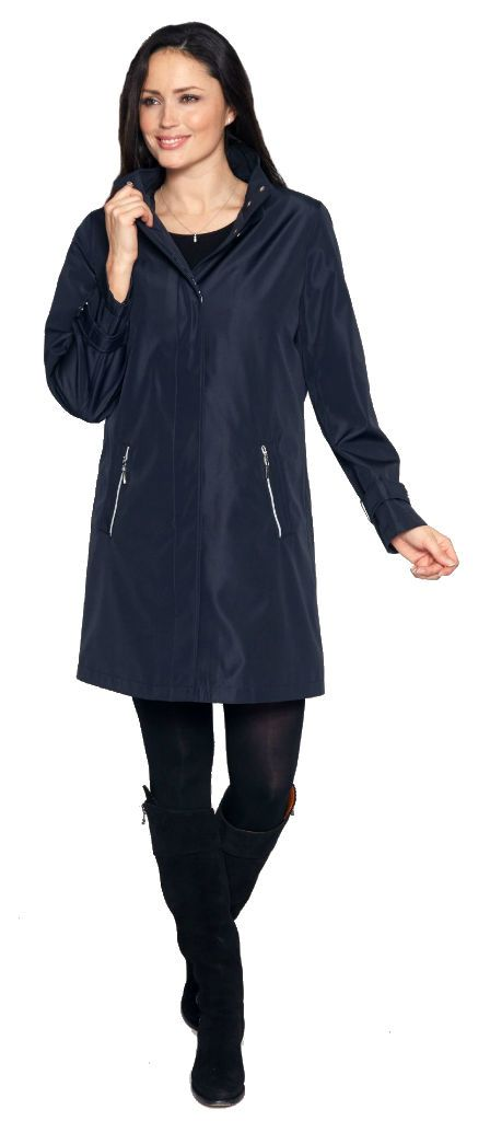 Womens  Flyfront Showerproof Raincoat db694