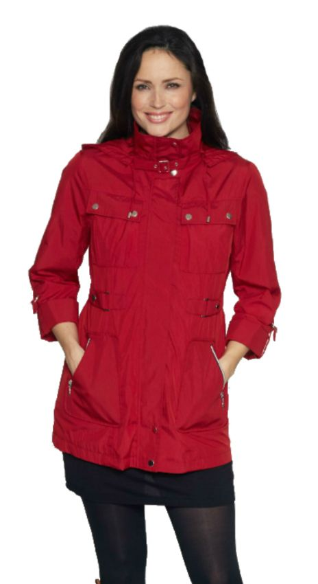 Womens Lightweight Functional Travel Jacket db2014