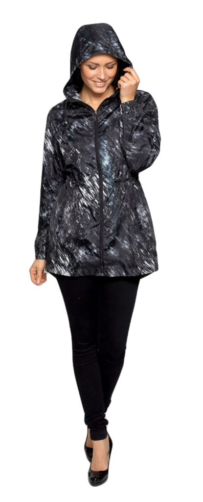 Womens Lightweight Travel Black Jacket db3127