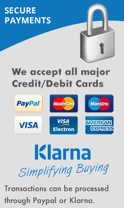 Pay with Paypal or Klarna